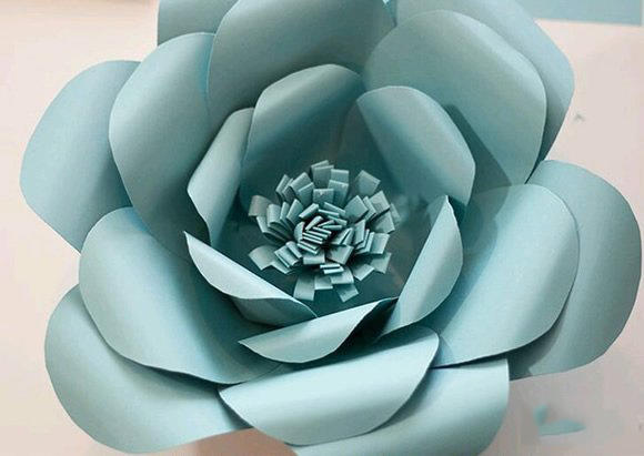 Easy Paper Flower Craft For Your Cute Kids
