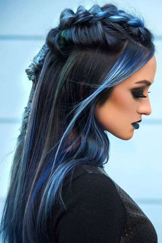 40+ STUNNING HAIR COLOR IDEAS FOR LONG HAIR STYLES IN 2019