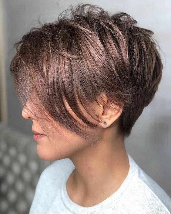30 Trendy Short Hairstyles For Women Over 40 In 2019 Molitsy Blog