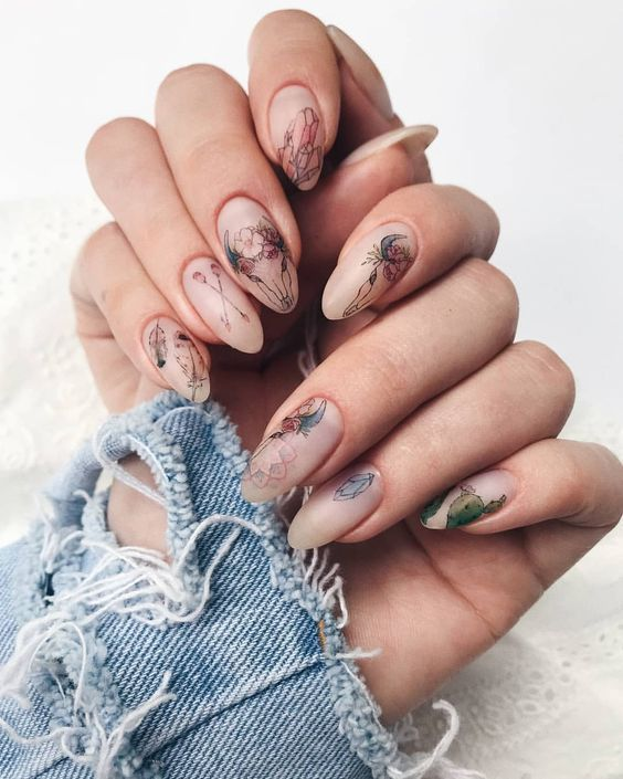 30+ Charming Pink Nail Art Designs For Summer 2019