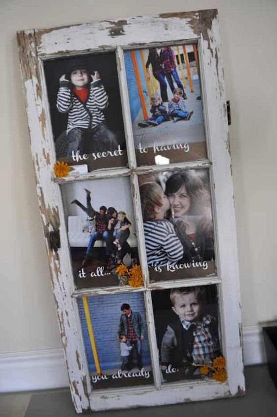 39 Creative DIY Photo Frames Make Your Home Unique Diy decor for home, home decor,DIY photo frames,