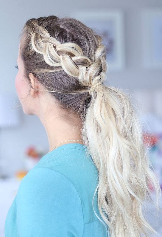 38 Hairstyle And Outfits Combination Makes You Wonderful hair style,  hair braid, outfits