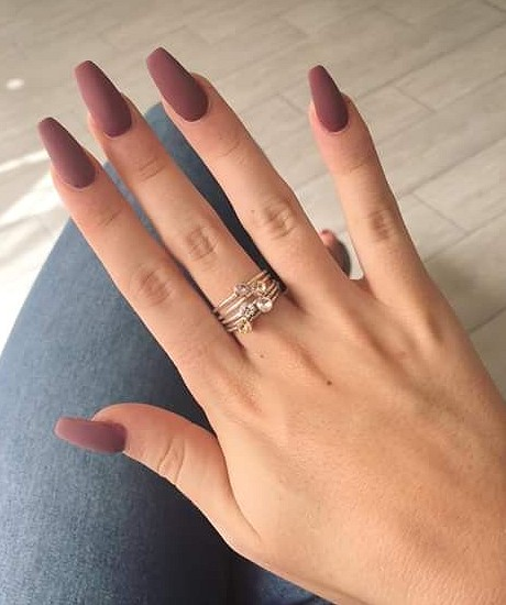 37 Lighter Warm Brown Nails Are Very Lovely nails, brown nails, natural nails,nail art