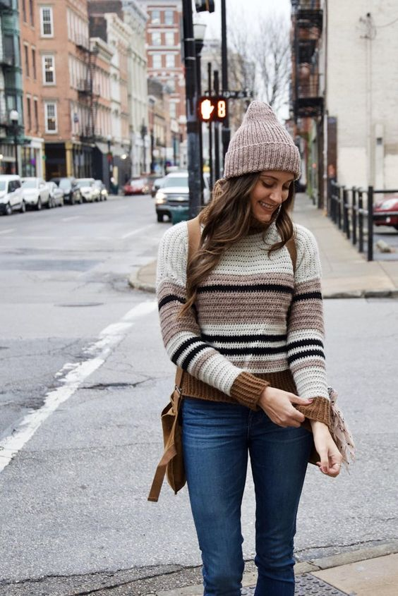 37 Casual and Warm Outfits Accompany You through The Fall