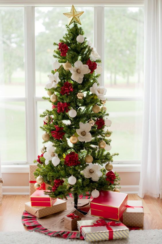 Christmas Tree Designs For 2020 Traditional Christmas tree decorates your room 2020   Molitsy Blog