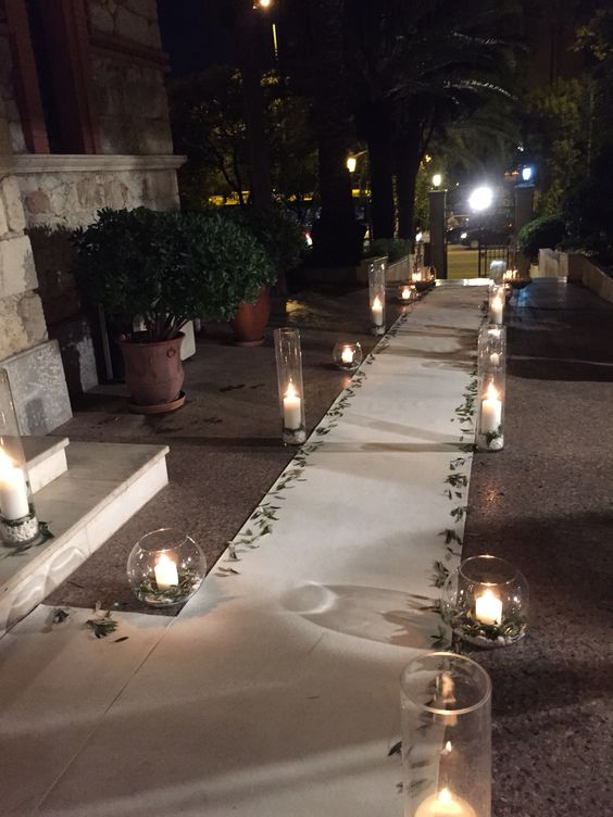 The wonderful use of candles at weddings you don