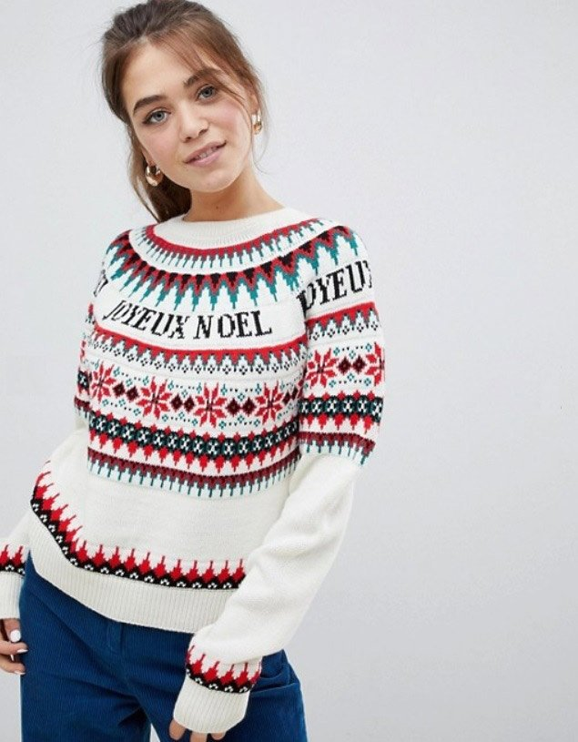 Essentially warm Christmas sweaters make you happier beautiful Christmas sweaters
