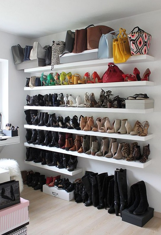 39 Wise Methods of Shoes Storage that Save Rome storage ideas, living room storage,shoes storage