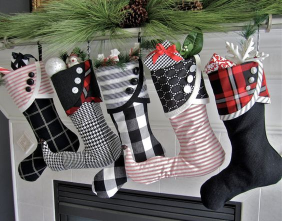 Stunning Christmas Socks Diy Creative Decoration Christmas socks by hand, Christmas Socks Design, Christmas socks decoration