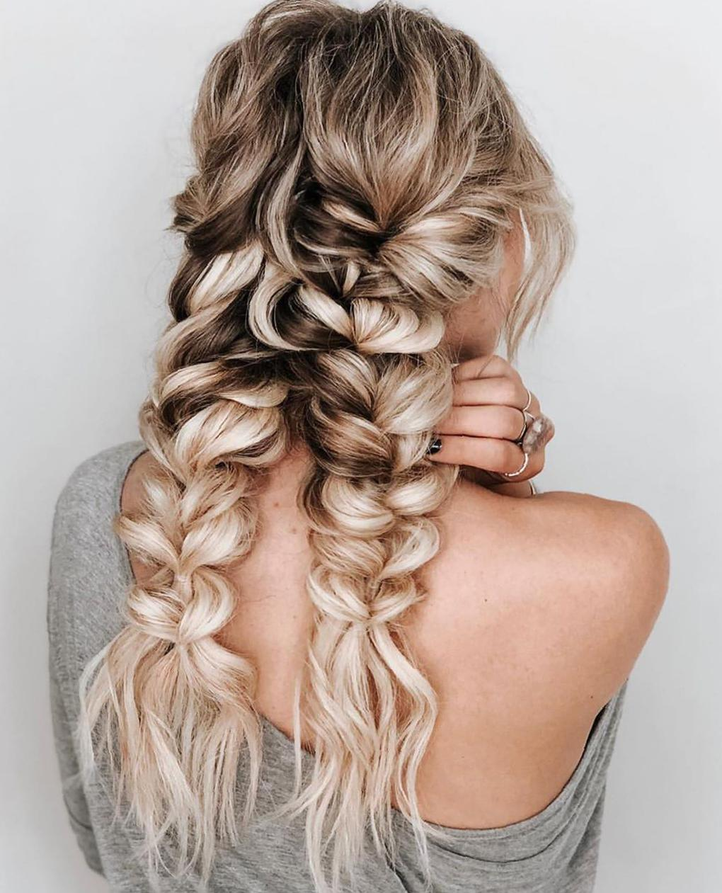 50 Trendy Double Braid Hairstyle Ideas To Keep You Cool Molitsy Blog